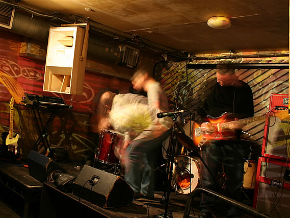The Chasms perform at the launch party for compilation CD 'Broadcast One' - 20/11/2010