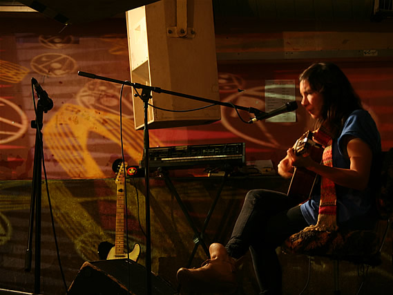 Alisia Casper performs at the launch party for compilation CD 'Broadcast One' - 20/11/2010