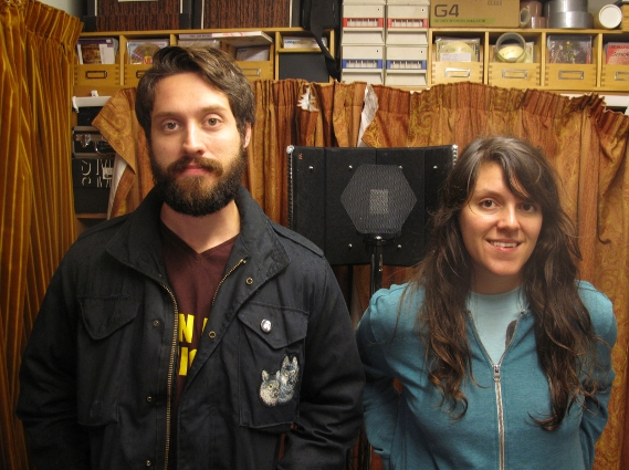 Eureka California at Rocker's to record a session