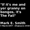 Mark E. Smith Tribute